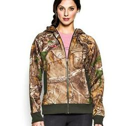 Under Armour 1247102 Women's Realtree Xtra Full Zip Polyeste