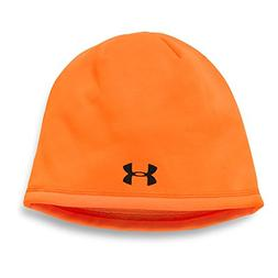 Under Armour 1300471 Men's HiVis Orange Armour Fleece Beanie