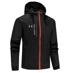 19SS Mens Under Armour Thin Hiking Quick Dry Coat Hooded Wat