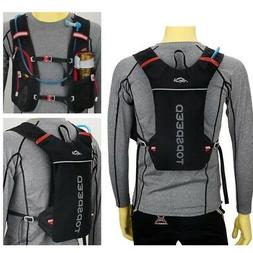 2/5L Cycling Marathon Running Vest Backpack Breathable Hydra