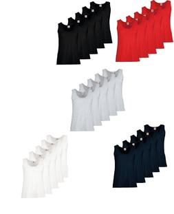 5 Pack Women's Fruit Of The Loom Lady-Fit Value-weight Vest