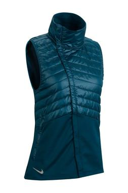 $90 NEW Womens Nike Essential Filled Running Vest Therma The