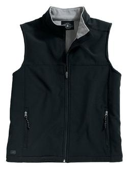 Charles River Apparel 9819 Men's Soft Shell Vest, Black/Vapo