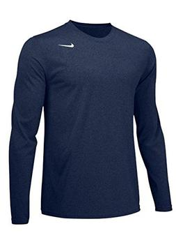 NIKE Mens Longsleeve Legend - Navy - Large