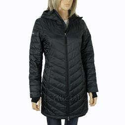 "New Womens Columbia ""Morning Light II"" Omni-Heat Hooded Wint"