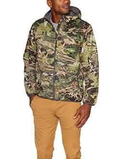 Under Armour Men's Grit Jacket, Ua Forest Camo /Black, X-Lar