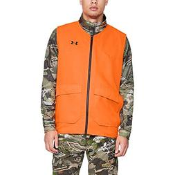 Under Armour Men's Hunt Blaze Vest, Blaze Orange /Black, XX-