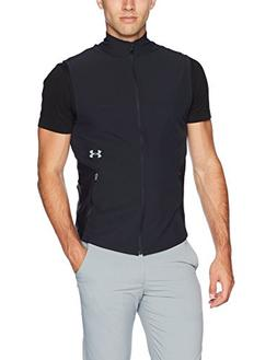 Under Armour Men's Threadborne Vanish Vest, Black /Steel, Me
