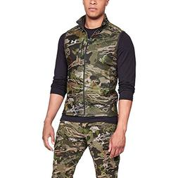 Under Armour Men's Zephyr Fleece Camo Vest, Ua Forest Camo /