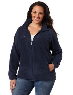 Womens 2X COLUMBIA Benton Springs Full Zip Fleece Jacket Coa