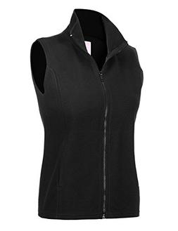 Regna X Womens Sports Active Outdoor Full Zip up Fleece Vest