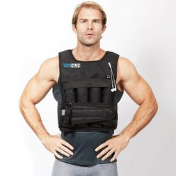 adjustable weighted vest with shoulder pads 20lbs