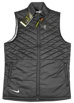 Nike AeroLayer Insulated Running Vest - NWT Mens XL Black -