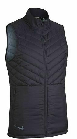 Nike Aerolayer Men's Running Vest AH0546 081 Navy Blue Size