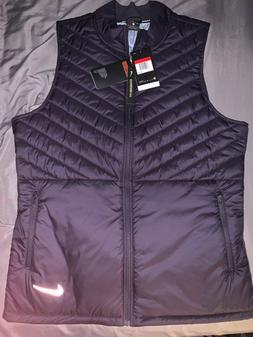 Nike Aerolayer Mens Dark Blue Running Vest Size Large-AH0546