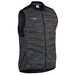 Nike Men's Aeroloft Flash Running Vest, Black