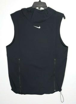 Nike Alpha Fly Rush Vest Hood Ventilated Black Football 9084