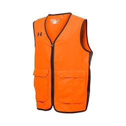 Under Armour Boys' Blaze Antler Logo Hunting Vest, Blaze Ora