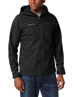 Columbia Men's Ascender Hooded Softshell Jacket, Collegiate