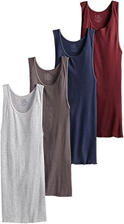 Fruit of the Loom Men's 4pk Assorted A-Shirt - 2XL
