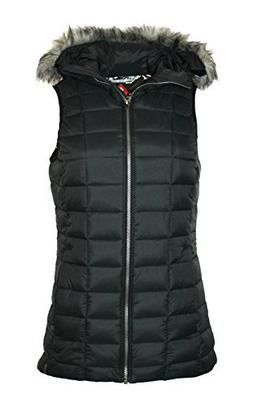 Columbia Womens Backcountry Blizzard Omni Heat Hooded Puffer
