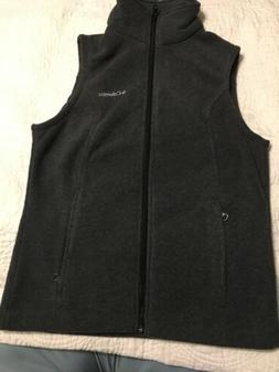 Columbia Benton Springs Womens Fleece Vest - 137212 Gray XS