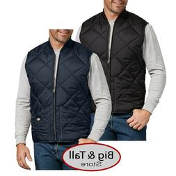 Big & Tall Men's Dickies Full Zip Quilted Nylon VEST 3XL -
