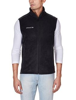 Columbia Men's Cathedral Peak Ii Fleece Vest, Black, XX-Larg