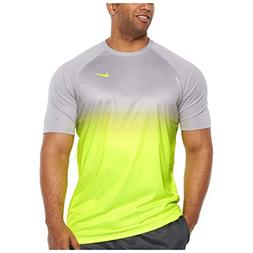 NIKE Men's Big and Tall Dri-Fit Swim Fade Mist Hydroguard T-