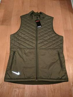 bnwt aerolayer men s running vest olive
