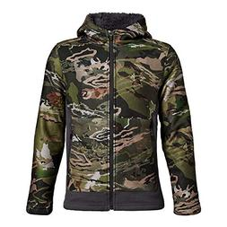boys stealth fleece jacket ua forest camo