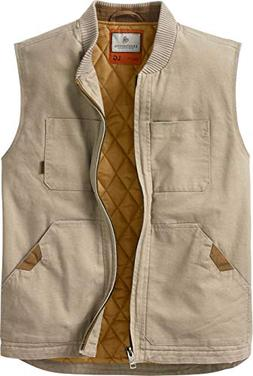 Legendary Whitetails Men's Canvas Cross Trail Vest Twig Smal