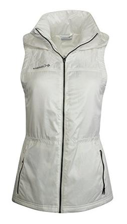 COLUMBIA WOMEN'S CEDAR EXPRESS II FULL ZIP HOODED VEST