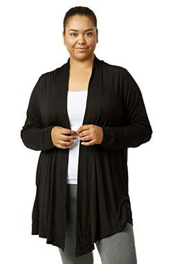 Women's Classic Chic Rayon Fabric Cardigan Sweater for Layer