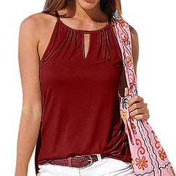 Crop Camis, FORUU Womens Floral Printed Summer Casual Strapp