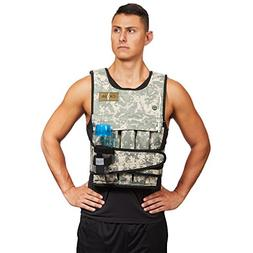 Cross 101 Adjustable Weighted Vest, 40 lbs  With Phone Pocke