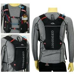 cycling marathon running vest hydration pack backpack