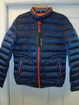 Wantdo / Damjieshi Unisex Lightweight Down Jacket in Navy Bl