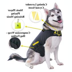 Dog Anxiety Separation Thunder Shirt Coat Vest Jacket + Musi