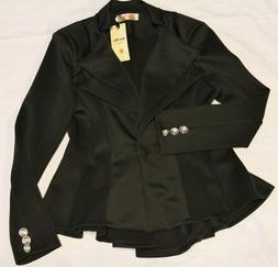 Hua Mei Fashion - Dressy Fitted Peplum Jacket   NEW  Busines