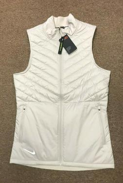 Nike Dri Fit Aerolayer Running Vest AH0546 008 Light Bone Sa