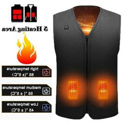 electric heated vest jacket usb thermal warm