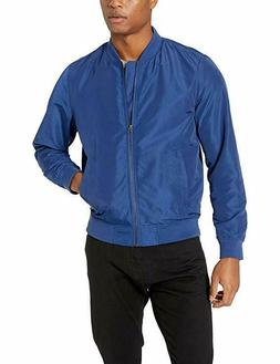 Amazon Essentials Men's Lightweight Bomber Jacket, Size-M. C