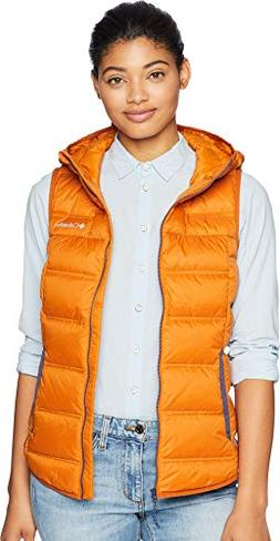 Columbia Women's Explorer Falls Hooded Vest Bright Copper/No