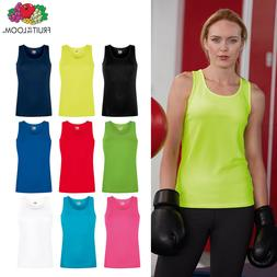 Fruit of the Loom FOTL - Women's Lady-fit Performance Vest T
