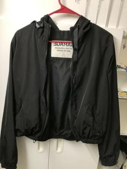 GIrl's Garage Jacket - Black - SIze L for girls - VERY GREAT