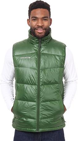 Columbia Men's Gold 650 TurboDown? Down Vest Woodland Outerw