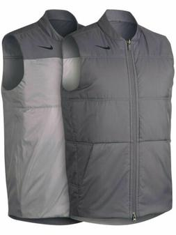 Nike Golf Mens Synthetic Fill Reversible Vest Jacket Gunsmok