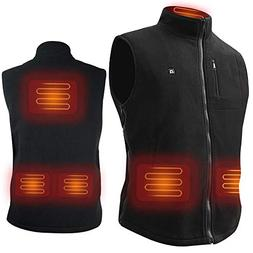 ARRIS Heated Vest Size Adjustable 7.4V Battery Electric Warm
