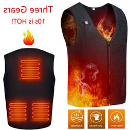 Heated Vest USB Charging Electric Jacket Washable for Women